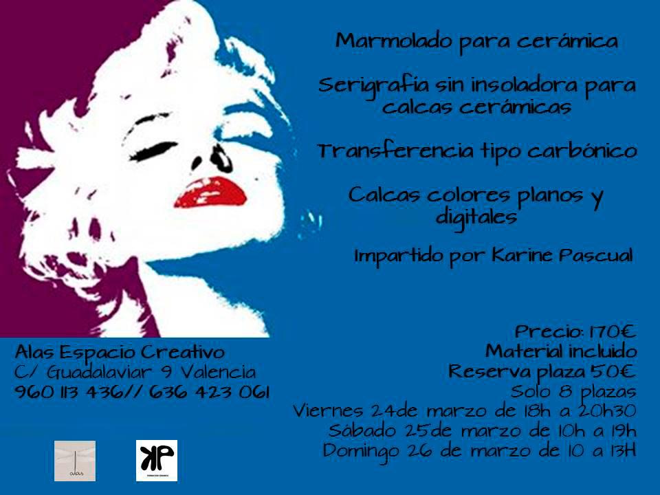 Curso de cerámica de Karine Pascual