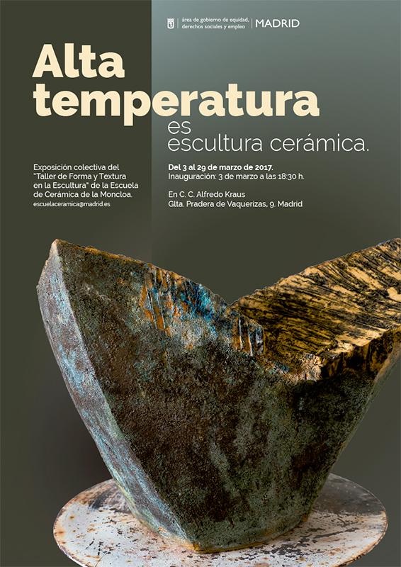 Cartel de la exposición de cerámica