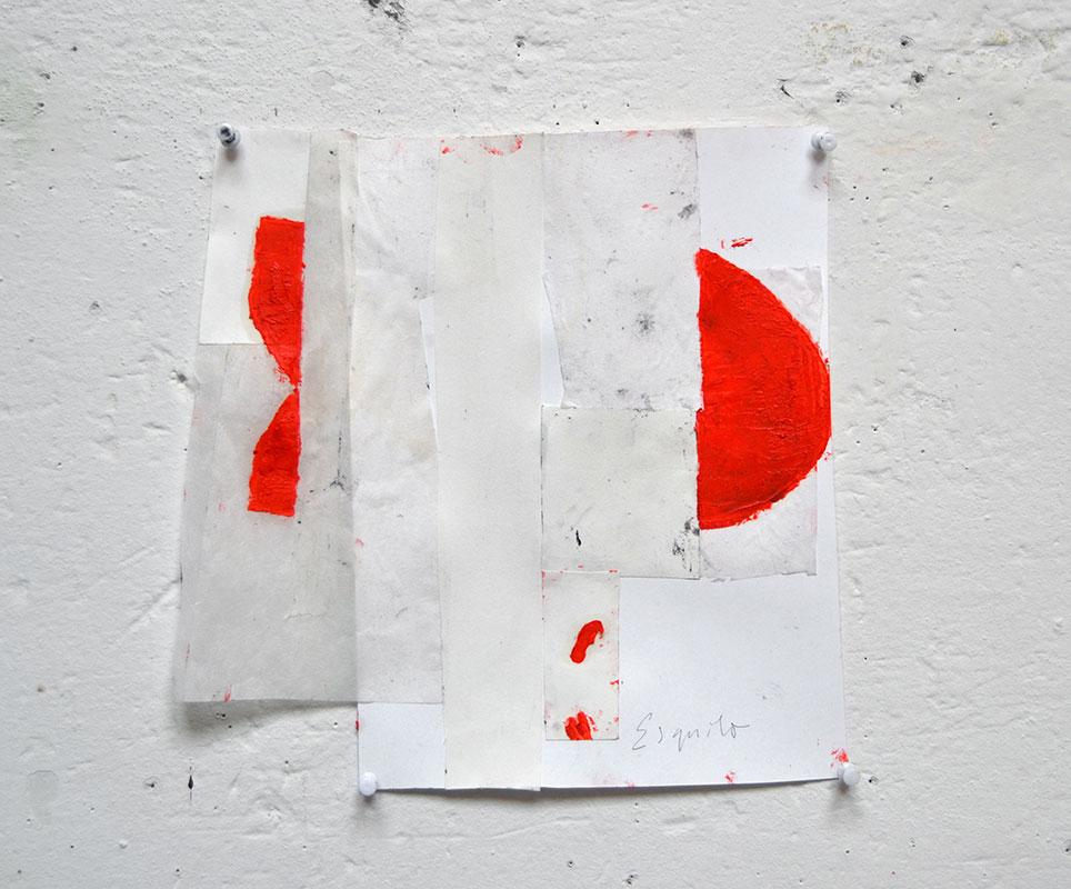 Pieza de la exposición Exit