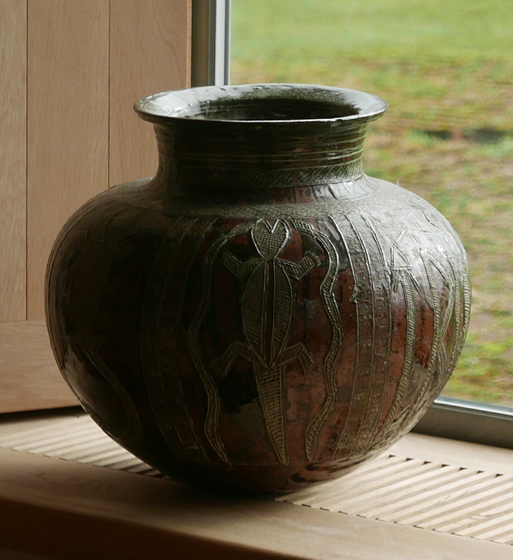 Pieza de cerámica de Ladi Kwali