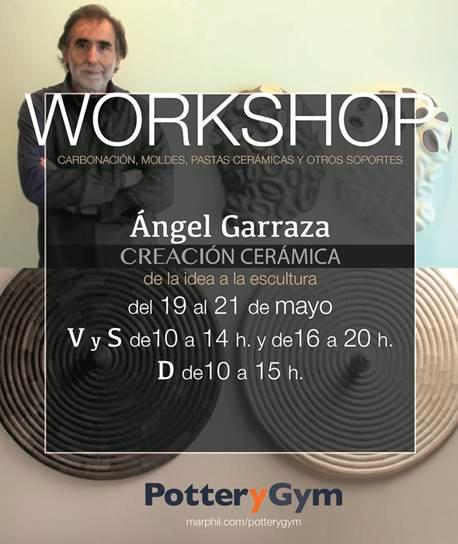 Cartel del curso de Ángel Garraza