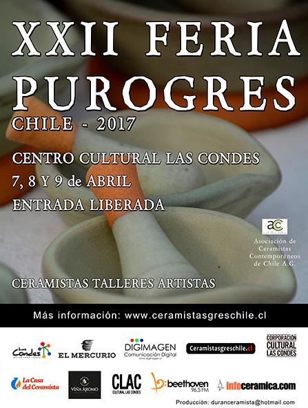 Cartel de la feria Purogres 2017
