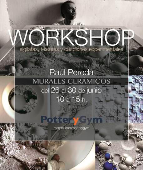 Cartel del curso de Raúl Pereda