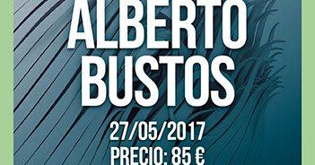 Cartel de la Master Class de Alberto Bustos