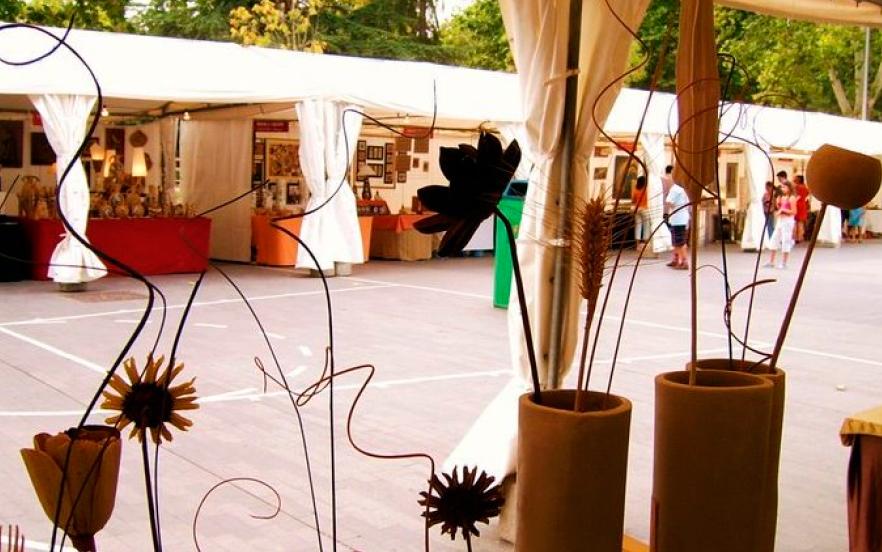 Feria de cerámica y alfarería de Valladolid