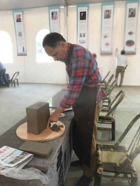 Juan Antonio Sangil en Yixing