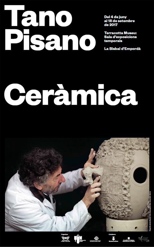 Exposición de cerámica de Tano Pisano