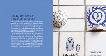 Páginas interiores del libro -Crear con cerámica-
