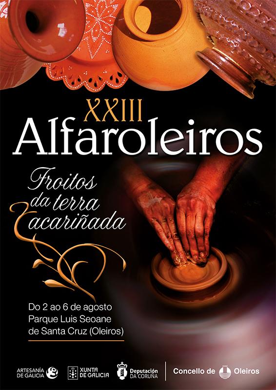 cartel de la feria Alfaroleiros