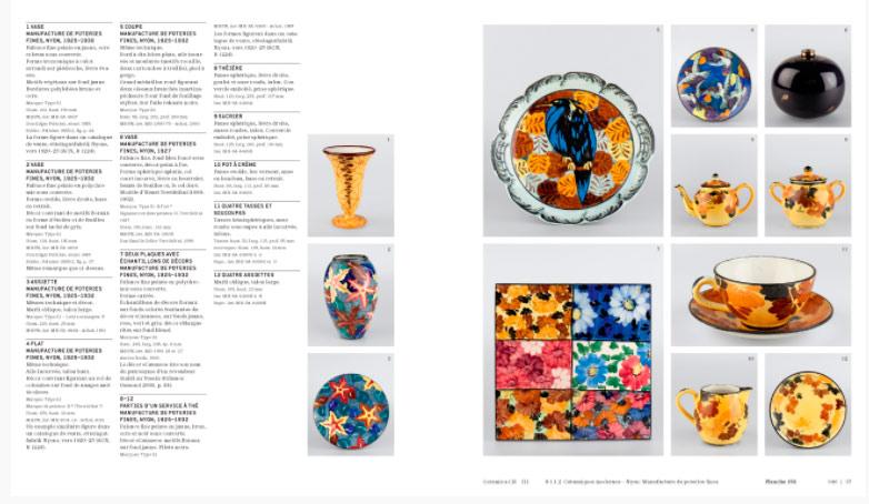 Páginas interiores del libro Ceramica CH III/1