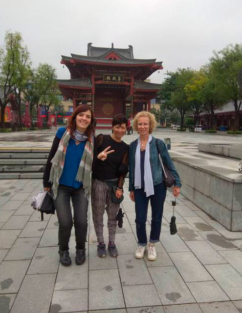 ceramistas Anna Ferrer, Chisato Kuroki y Eulàlia Oliver