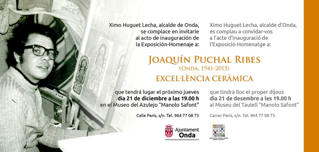 Cerámica de Joaquín Puchal Ribes
