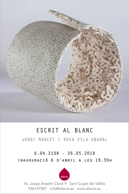 Exposición de cerámica de Jordi Marcet y Roas Vila-Abadal
