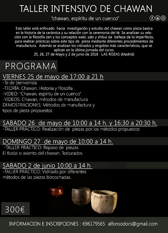 Curso de cerámica de Alfonso d'Ors