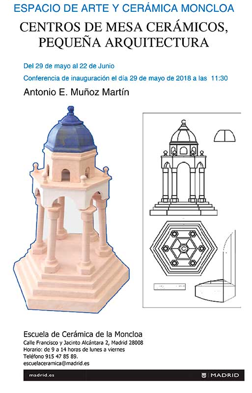 Cerámica de Antonio E. Muñoz Martín