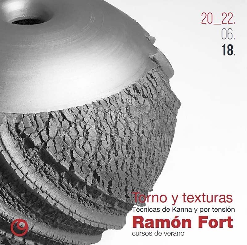 Curso Torno y texturas - Ramón Fort