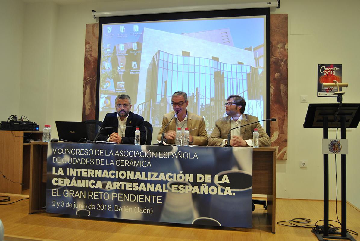 Congreso de cerámica en Bailén