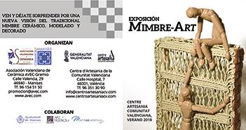 Exposición de cerámica Mimbre-Art
