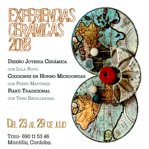 Curso de cerámica en Montilla
