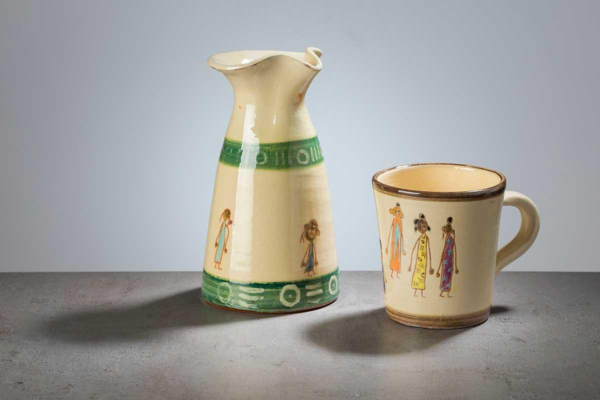 Pieza de cerámica
