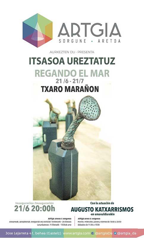Instalación cerámica de Txaro Marañón