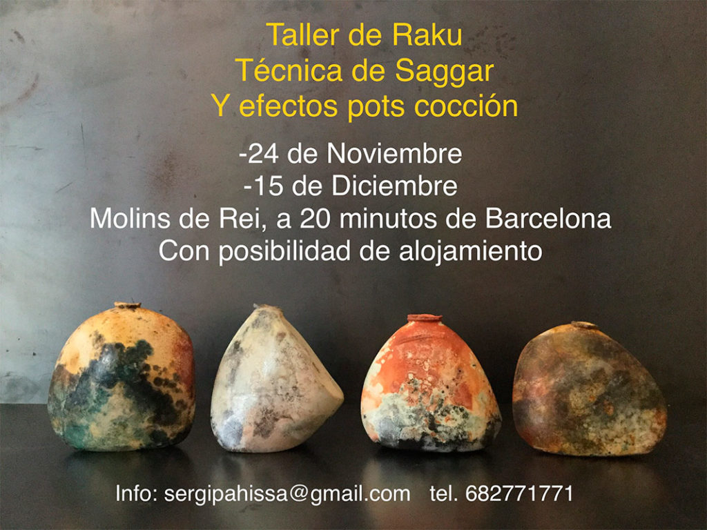 Curso de cerámica con Sergi Pahissa