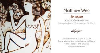 Exposición de cerámica de Matthew Weir