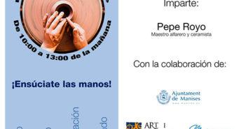 Curso de cerámica de Pepe Royo