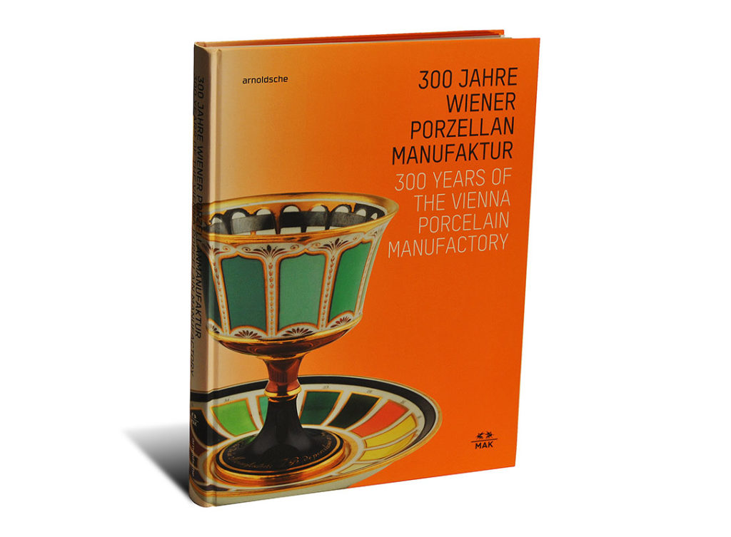 Portada del libro 300 Years of the Vienna Porcelain Manufactory
