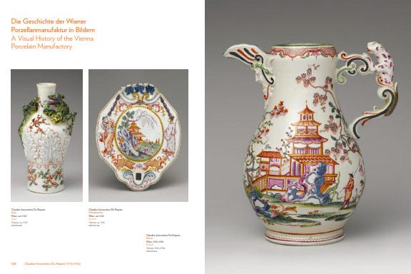 Páginas interiores del libro 300 Years of the Vienna Porcelain Manufactory