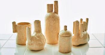 Pieza de cerámica de Sinae Kim