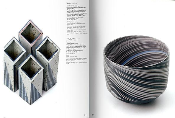 Páginas interiores del libro Vessel Sculpture