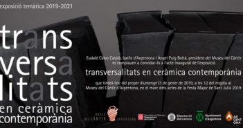 Exposición de cerámica Transversalitats