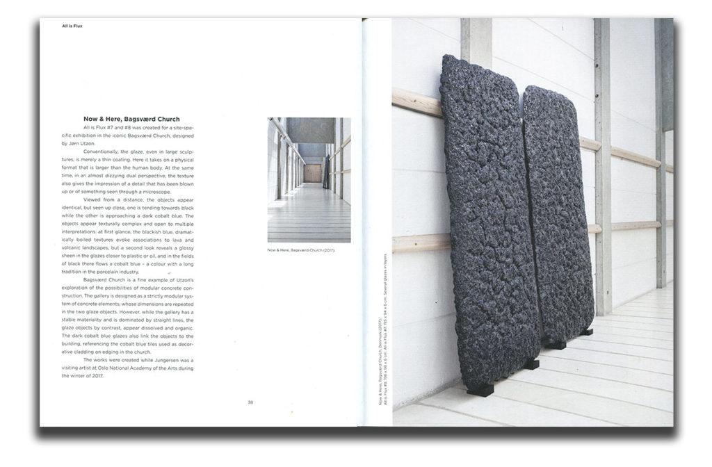 Páginas interiores del libro dedicado a Gutte Guntersen