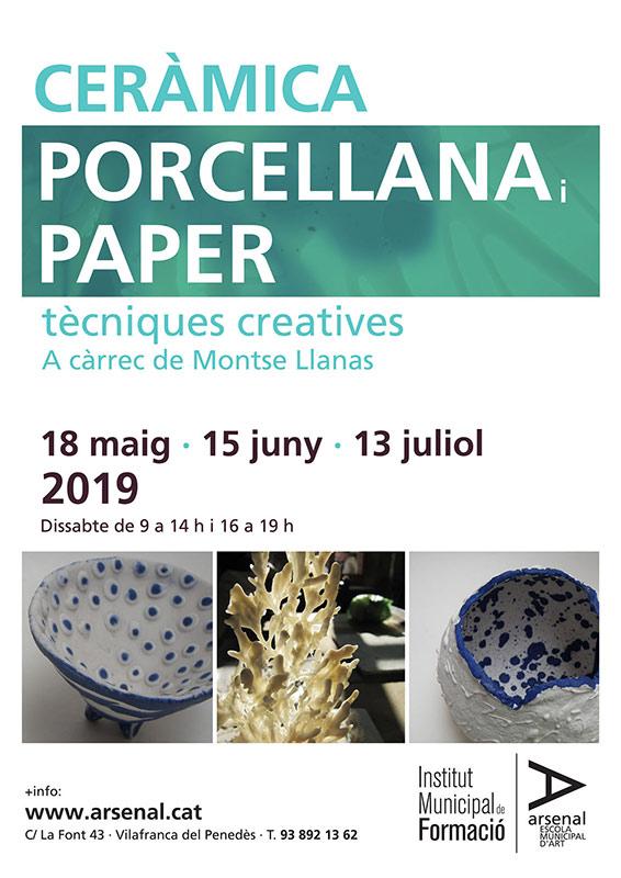 Curso de cerámica de Montse Llanas