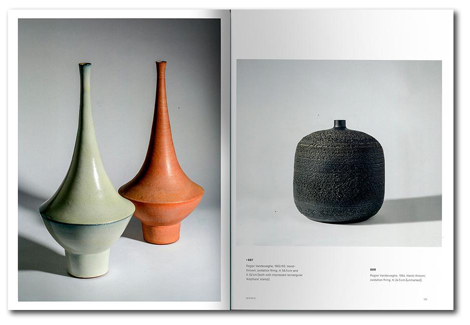Páginas interiores del libro Amphora Rogier Vandeweghe