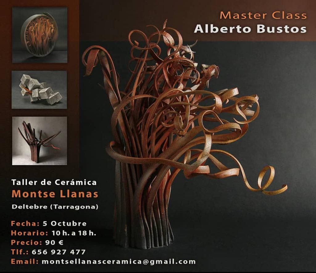 Curso de cerámica de Alberto Bustos