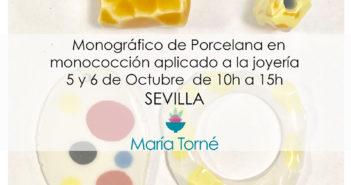 Joyería cerámica con María Torné