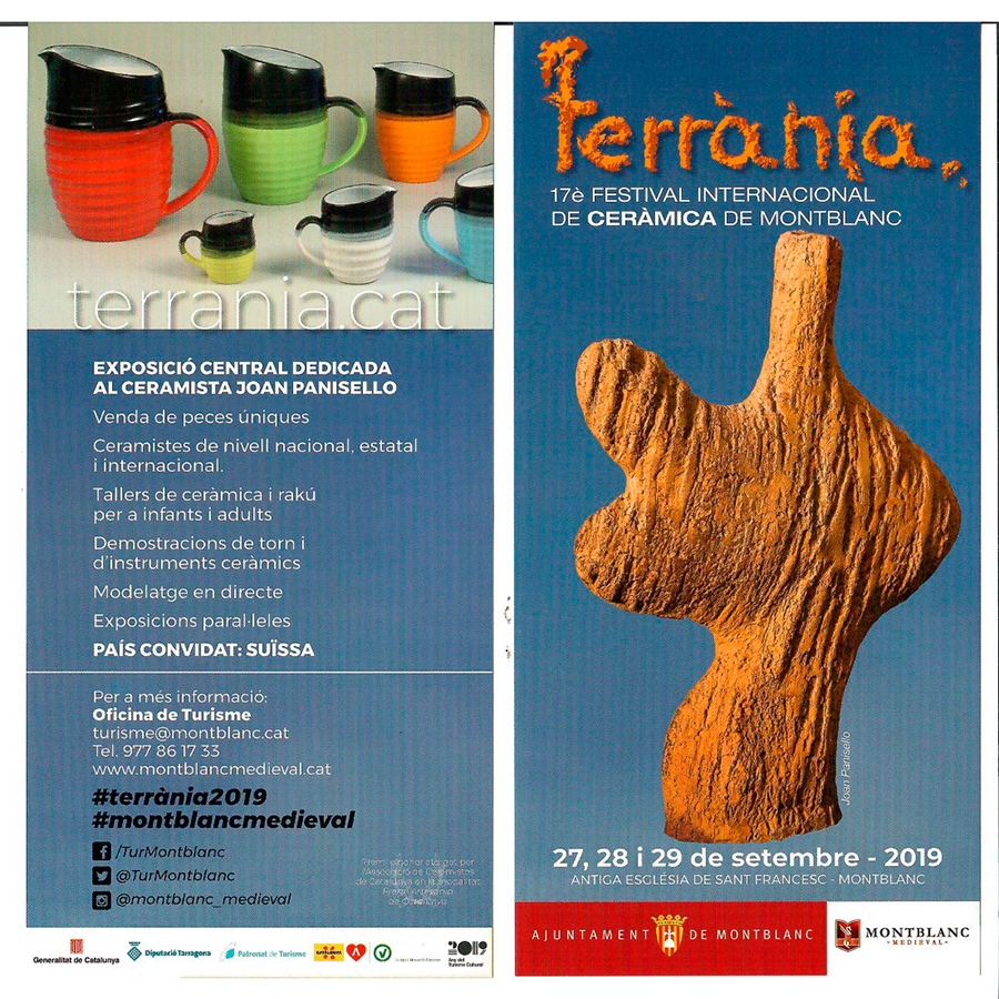 Feria de cerámica de Terrania