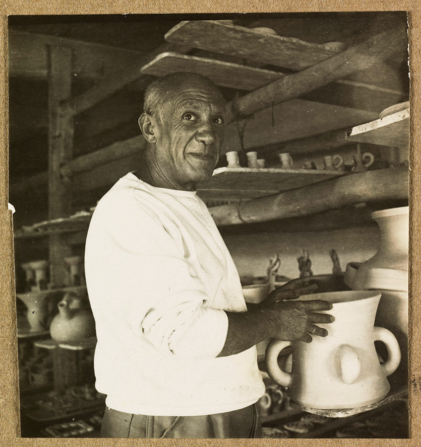 Picasso con cerámica