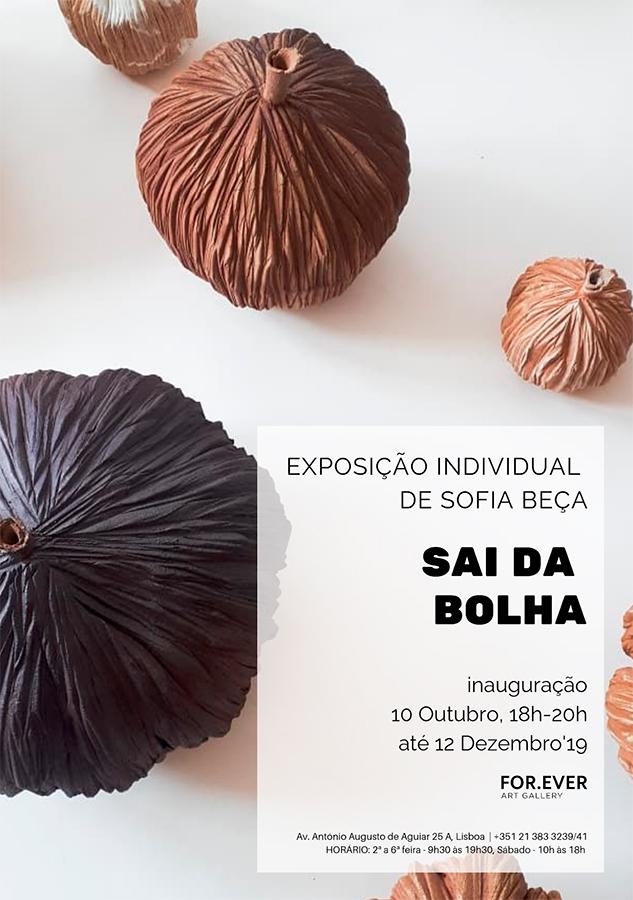 Exposición de cerámica de Sofia Beça