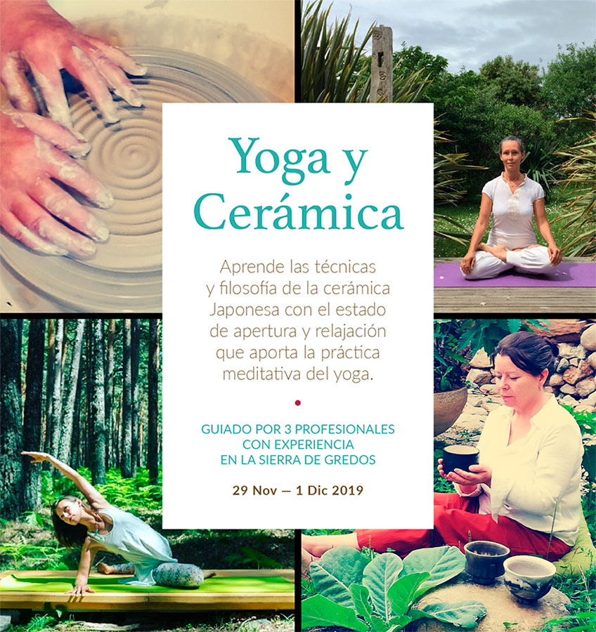 Curso de cerámica y yoga