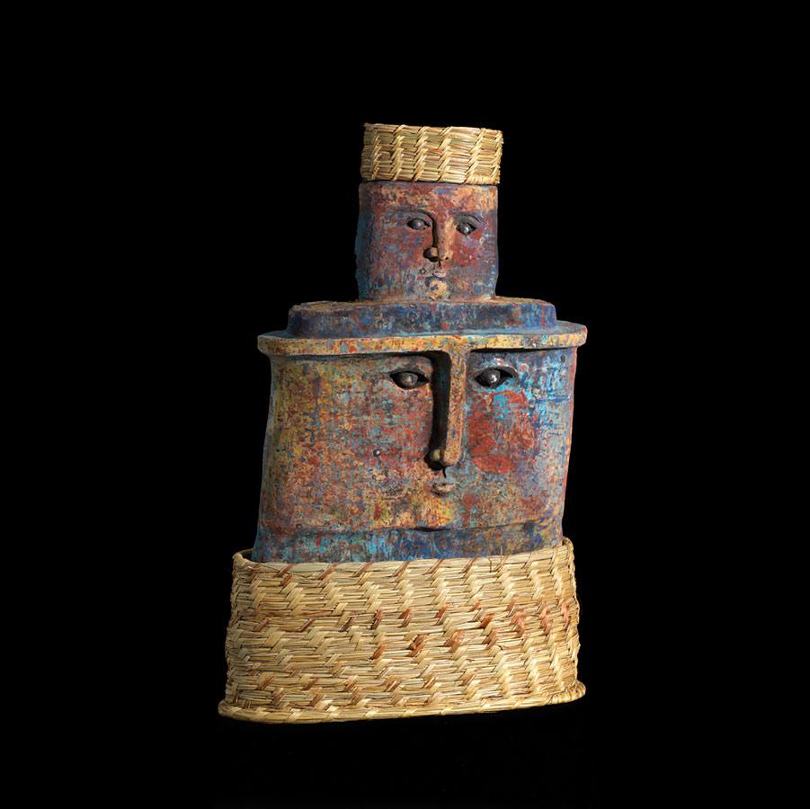 Escultura cerámica de Keka Ruiz Tagle