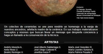 Exposición de cerámica colombiana