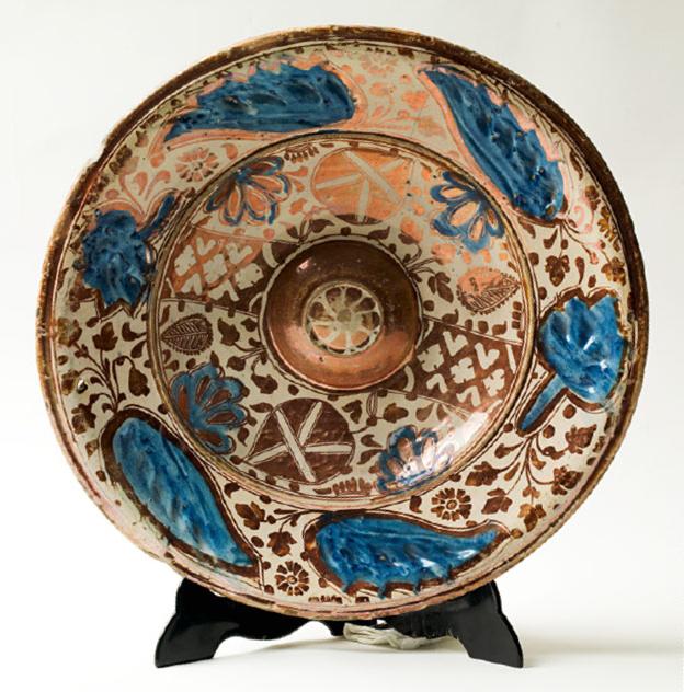 Plato de cerámica de Muel