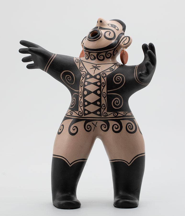 Cerámica Pueblo de Virgil Ortiz
