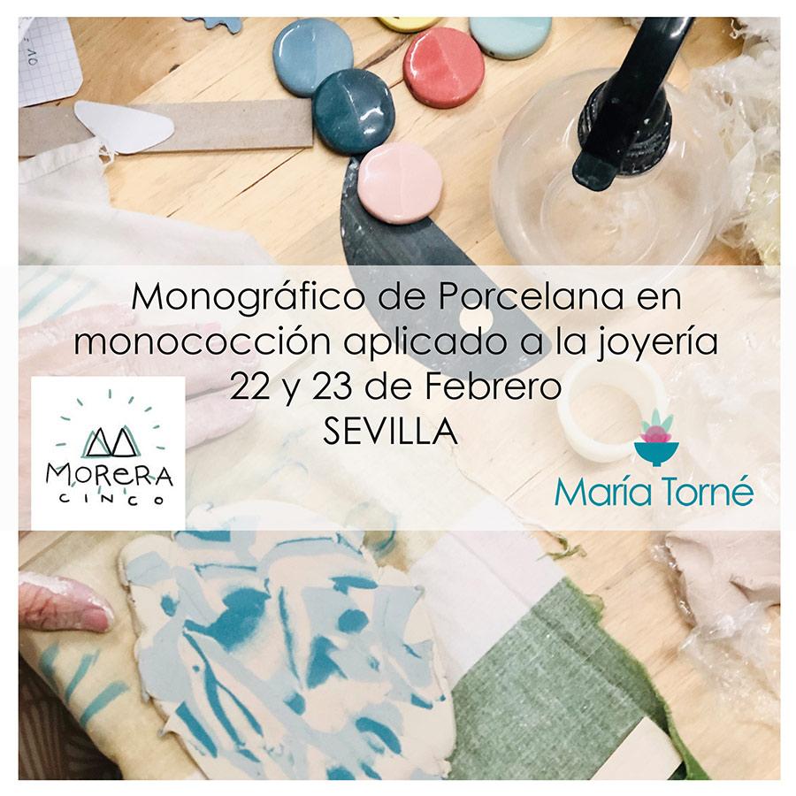 Curso de cerámica con María Torné