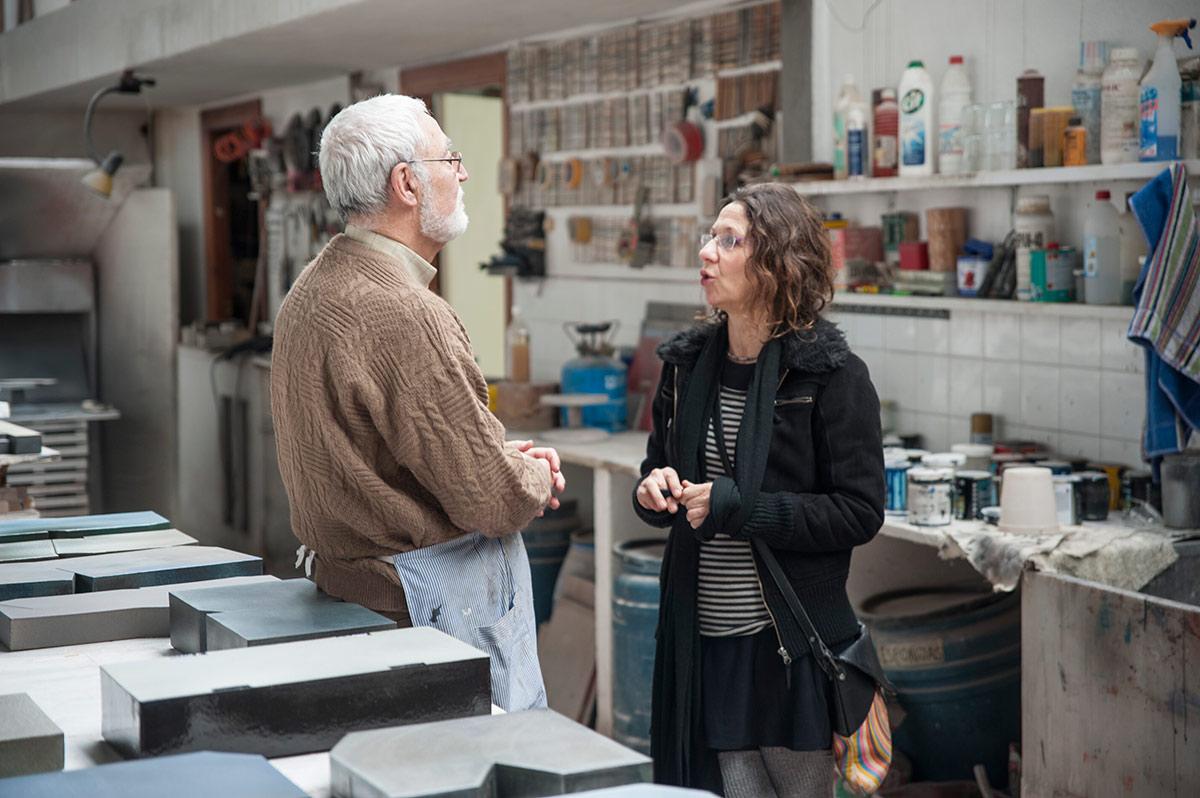 Enric Mestre y Rafaela Pareja