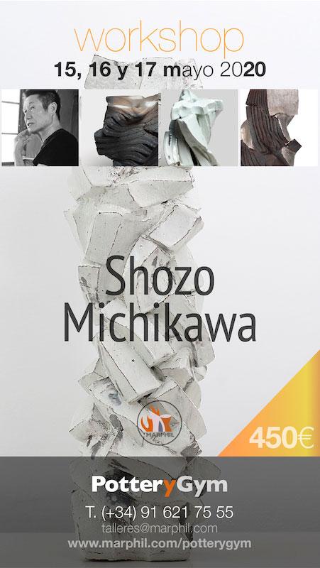 Curso de cerámica de Shozo Michikawa