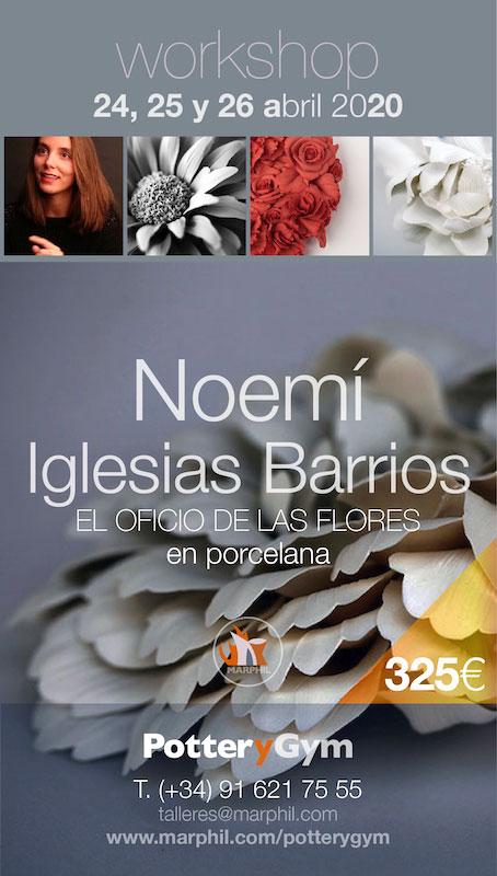 Curso de cerámica de Noemí Iglesias
